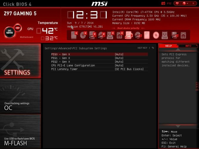 MSI Z97 Gaming 5 Motherboard Review: Five is Alive - Cheap