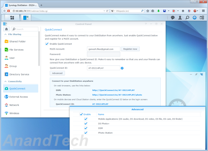 Synology DS214play: Intel Evansport Almost Done Right