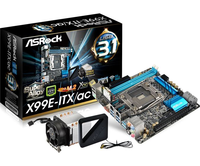 The ASRock X99E-ITX/ac Review: Up to 36 Threads in Mini-ITX - Cheap